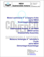73 0025 001 dismantling-assembling manual of NBS4 motors