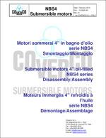 73 0025 001 dismantling-assembling manual of NBS4 motors